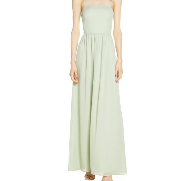Wayf NWOT Harlet Convertible Chiffon A-Line Gown
